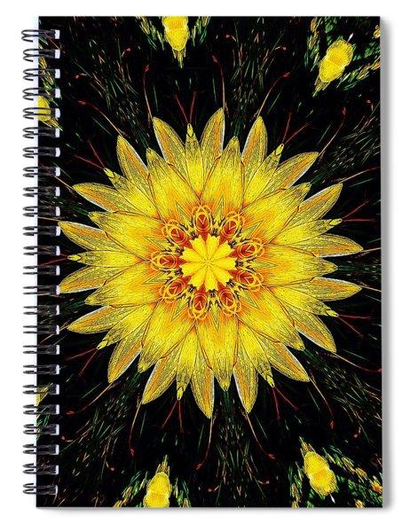 Sunshine Lily Spiral Notebook