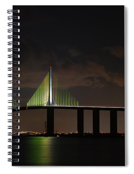 Sunshine Skyway Bridge Spiral Notebook