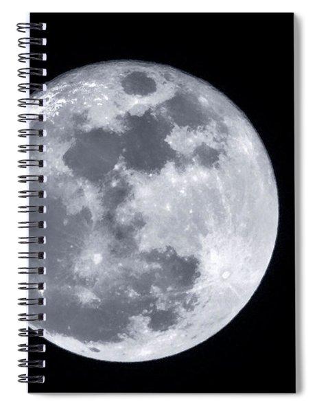 Super Moon Over Arizona  Spiral Notebook
