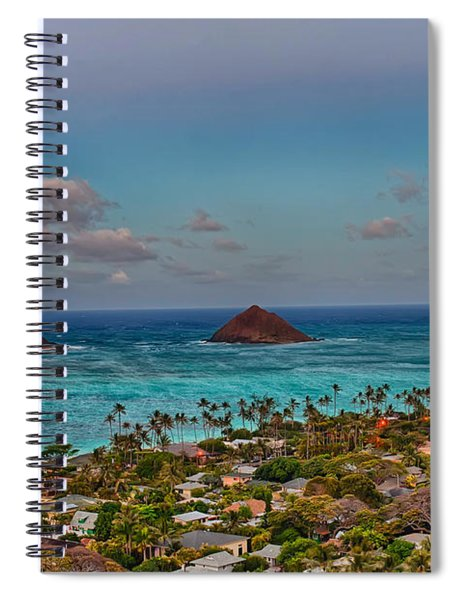 Supermoon Moonrise Spiral Notebook