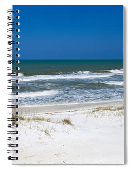 Surf On The Beach, St. Joseph Peninsula Spiral Notebook