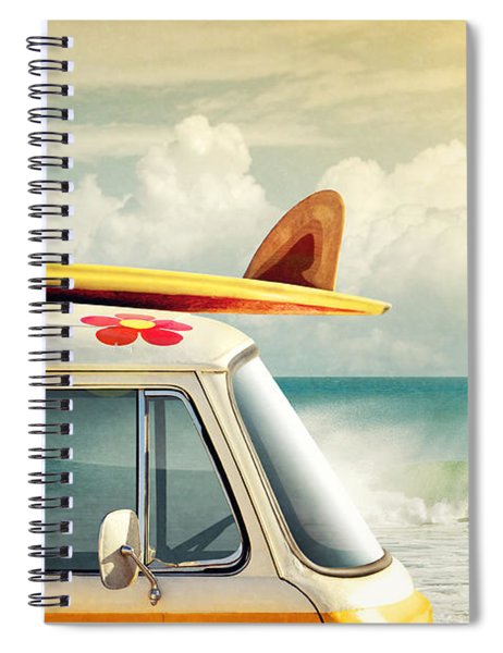 Surfing Way Of Life Spiral Notebook