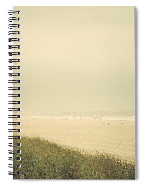 Surf's Up Seaside Park New Jersey Spiral Notebook