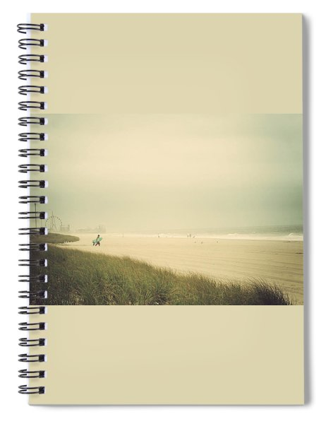 Surf's Up Seaside Park New Jersey Spiral Notebook