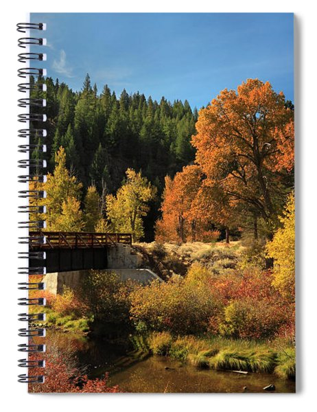 Susan River Bridge On The Bizz 2 Spiral Notebook