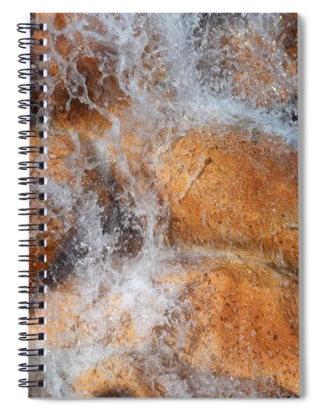 Suspended Motion Spiral Notebook