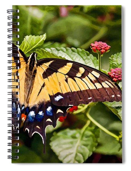 Swallowtail Beauty Spiral Notebook