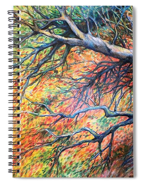 Sway Dancing Trees Spiral Notebook