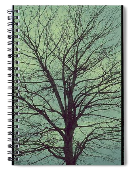 Sweep The Sky Spiral Notebook