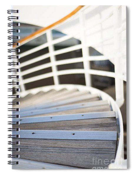 Sweeping Down Spiral Notebook