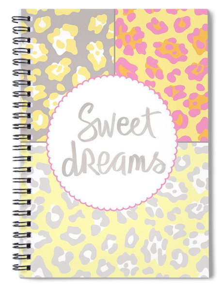 Sweet Dreams - Animal Print Spiral Notebook
