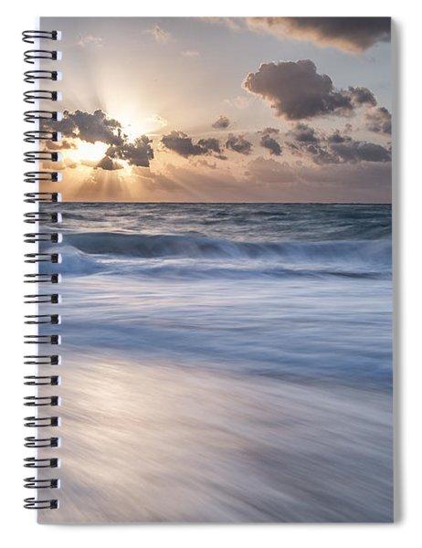 Sweet  Sky Spiral Notebook