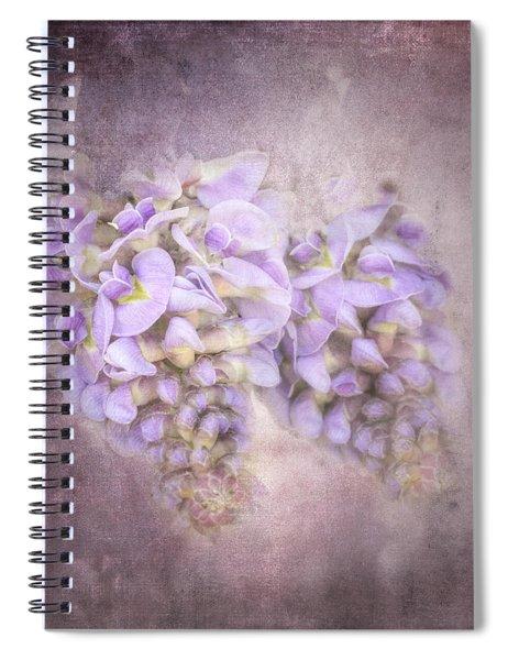 Sweet Wisteria Spiral Notebook