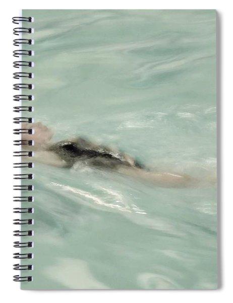 Swimmer Spiral Notebook