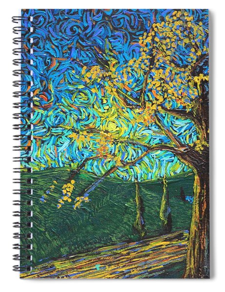 Swing By The Road Spiral Notebook
