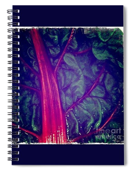 Swiss Chard Spiral Notebook