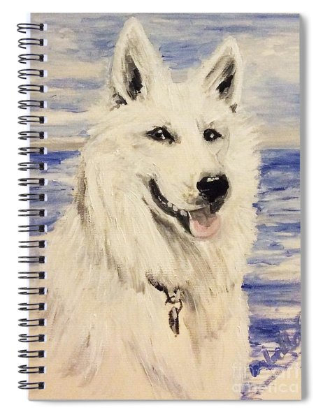 Swiss Shepherd Spiral Notebook