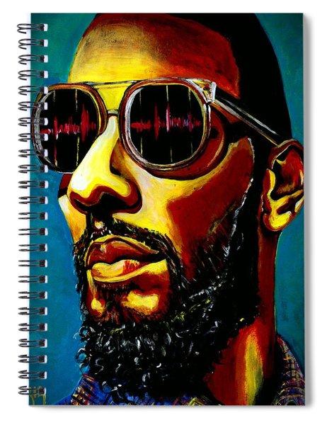 Swizz Beatz Spiral Notebook