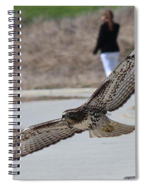 Swoop Spiral Notebook