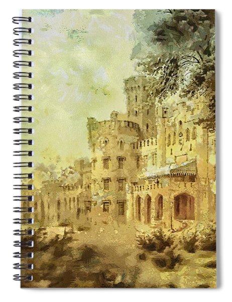 Sybillas Palace Spiral Notebook