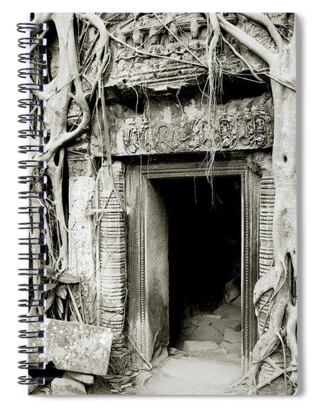 Ta Prohm Doorway Spiral Notebook
