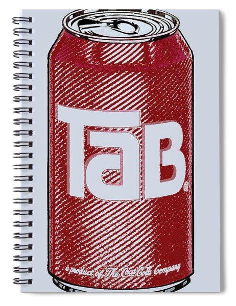 Tab Ode To Andy Warhol Spiral Notebook