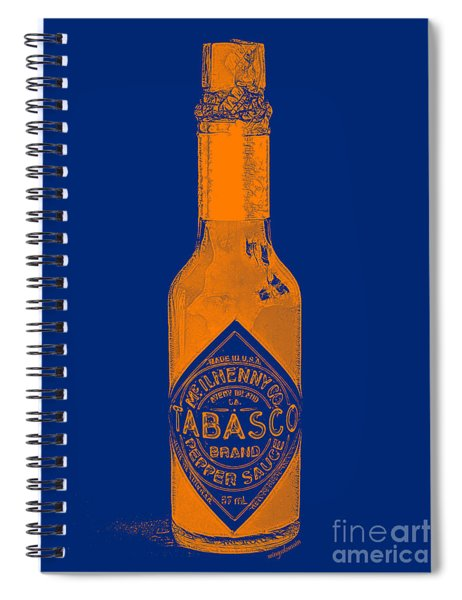 Tabasco Sauce 20130402grd2 Spiral Notebook