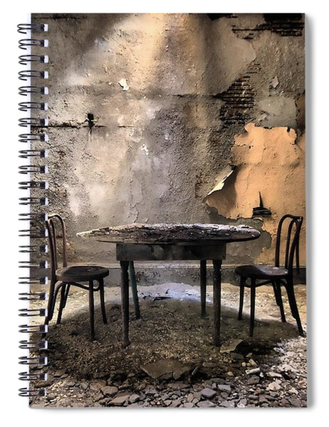 Table 4 Two Spiral Notebook