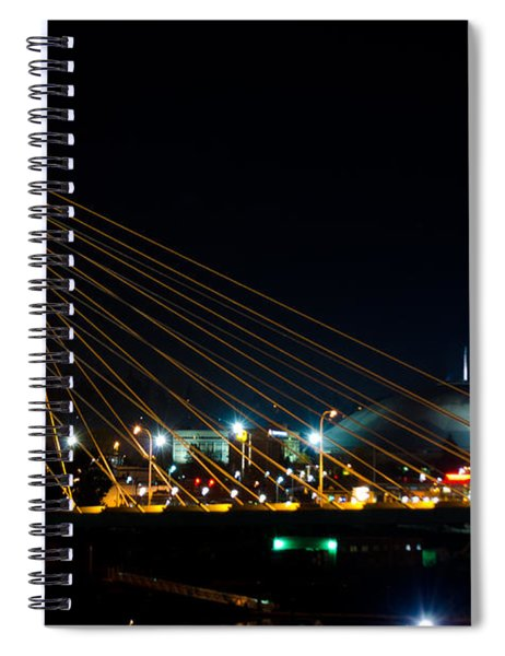 Tacoma Dome And Bridge Spiral Notebook