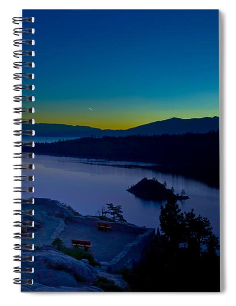 Spiral Notebook featuring the photograph Tahoe Sunrise by Jim Thompson