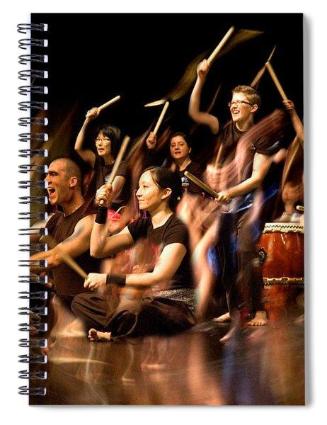 Taiko Flow Spiral Notebook