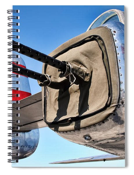 Tail Gunner Spiral Notebook
