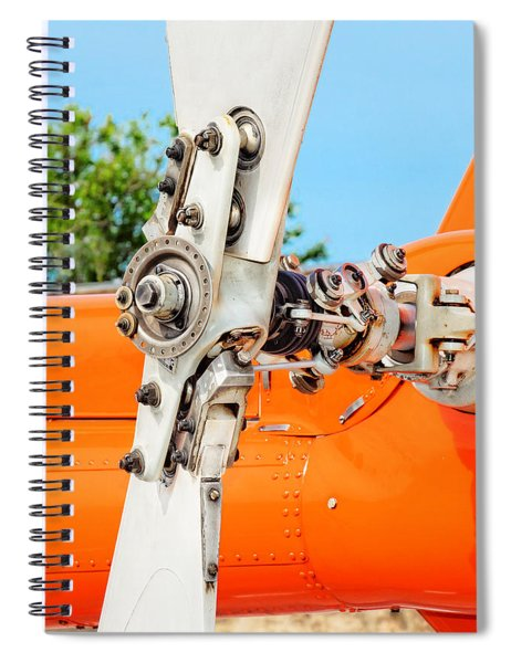 Tail Rotor Spiral Notebook