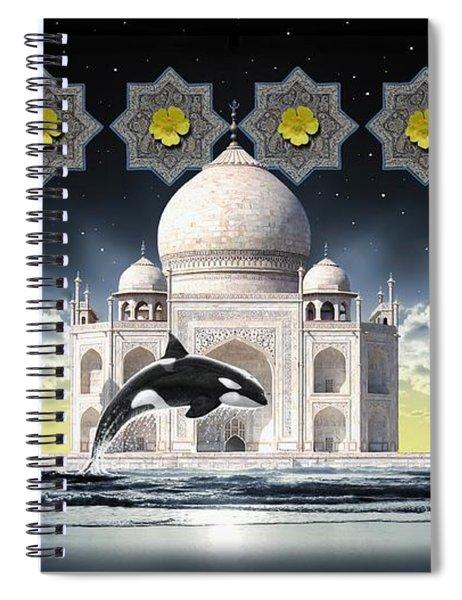 Taj Spiral Notebook