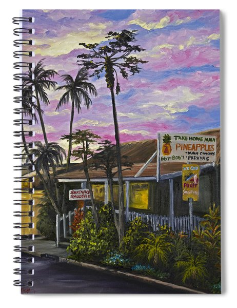 Take Home Maui Spiral Notebook