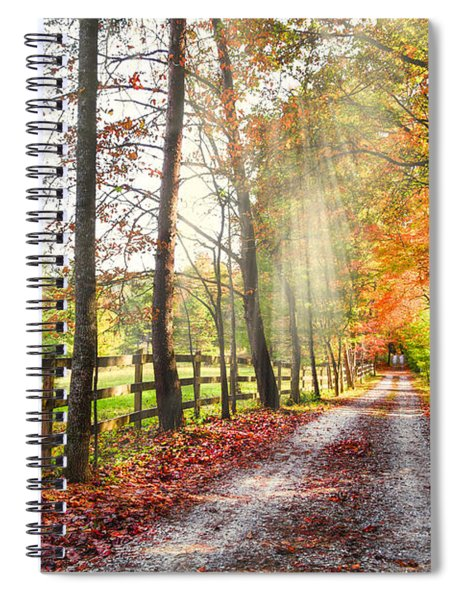 Take The Back Roads Spiral Notebook
