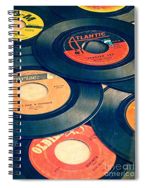 Take Those Old Records Off The Shelf Spiral Notebook