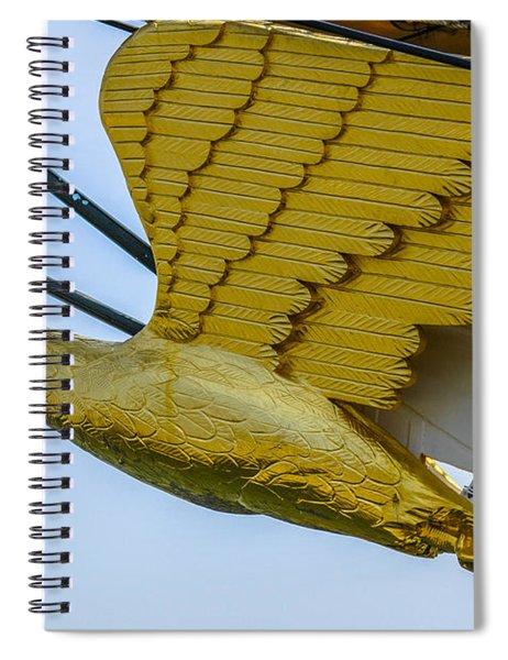Tall Ship Uscg Barque Eagle Masthead Spiral Notebook