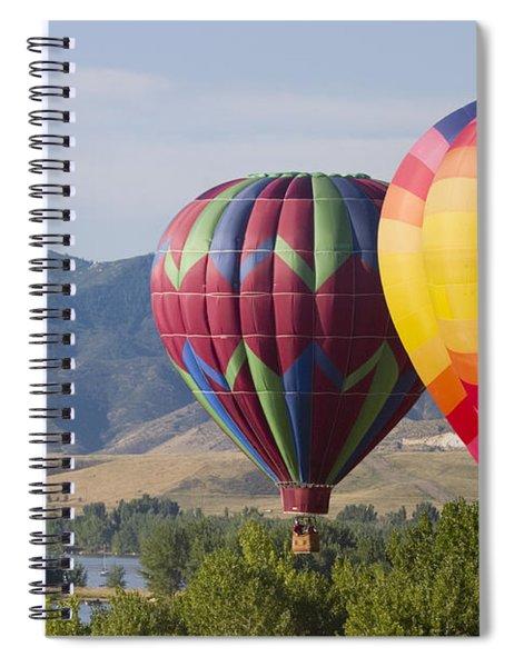 Tandem Balloons Spiral Notebook
