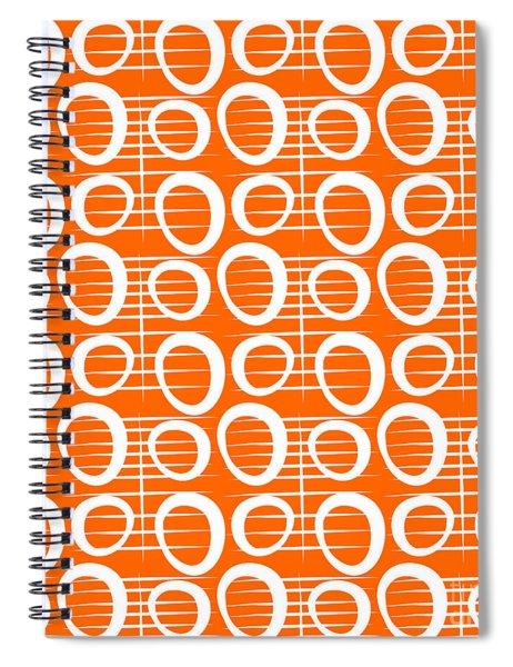 Tangerine Loop Spiral Notebook