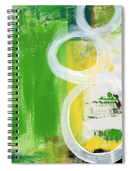 Tango- Abstract Painting Spiral Notebook