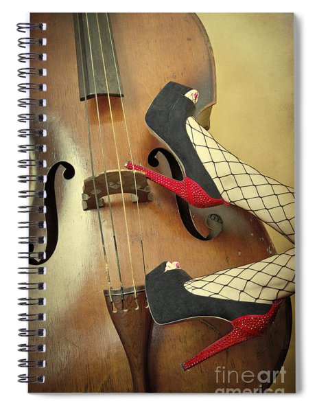Tango For Strings Spiral Notebook
