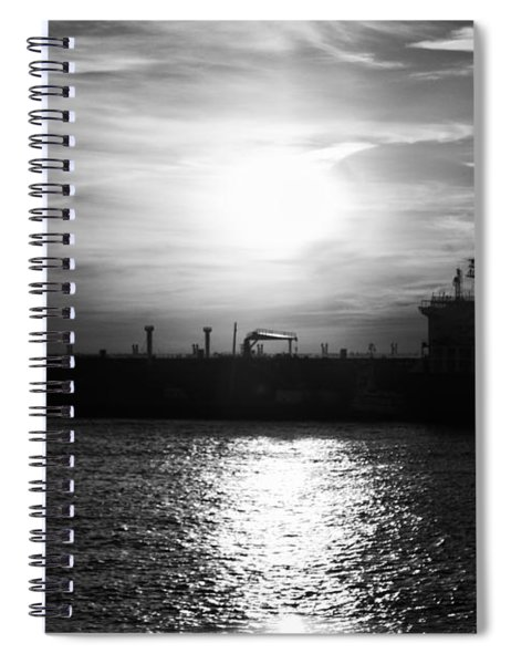 Tanker Twilight Spiral Notebook