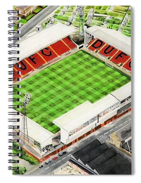 Tannadice Park - Dundee United Fc Spiral Notebook