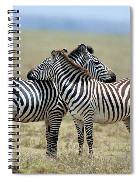 Tanzania Serenget National Park Spiral Notebook