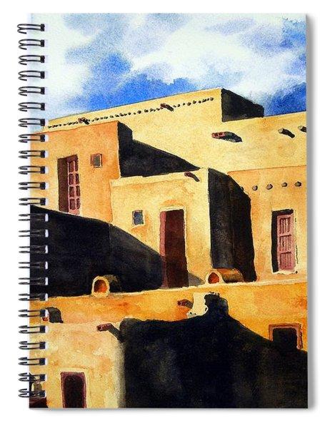 Taos Pueblo Spiral Notebook
