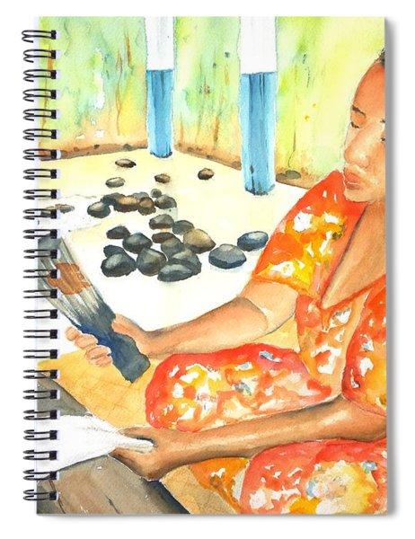 Tapa Stretch Spiral Notebook