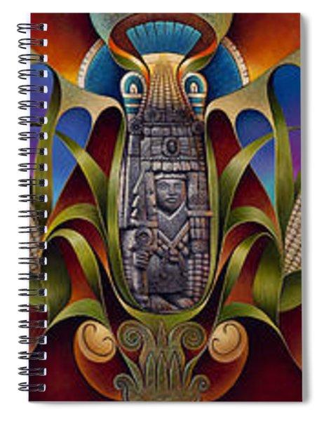 Tapestry Of Gods Spiral Notebook