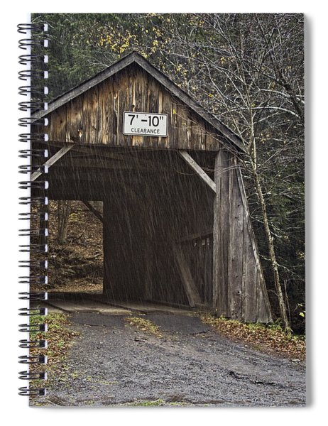 Tappan Covered Bridge Spiral Notebook