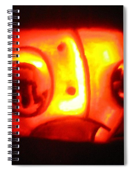 Tarboy Pumpkin Spiral Notebook